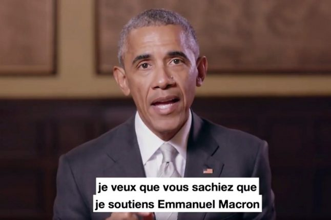 Barack Obama to meet Macron for 'private' lunch during weekend in Paris