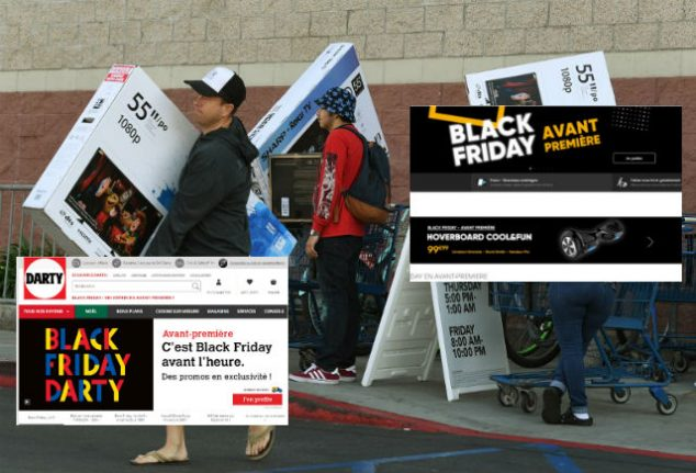 How the French have fallen for America's 'Black Friday' shopping bonanza
