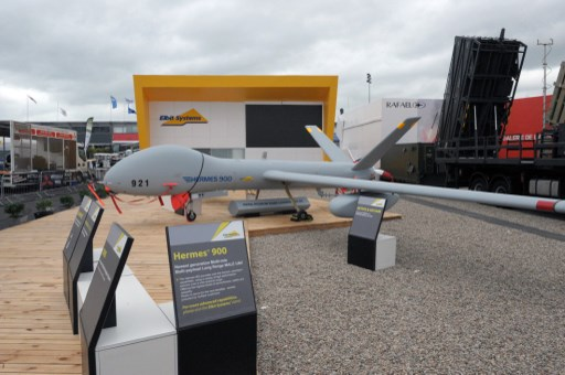 Defence ministry under fire over Israeli drone tests