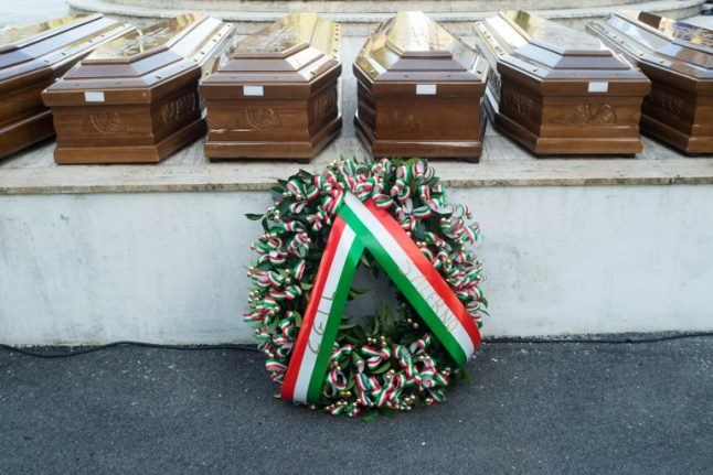Italy holds funerals for 26 Nigerian women drowned at sea