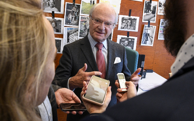 King of Sweden: 'Something good will come of #MeToo'