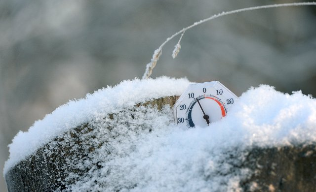Big freeze brings Sweden's coldest night of the season