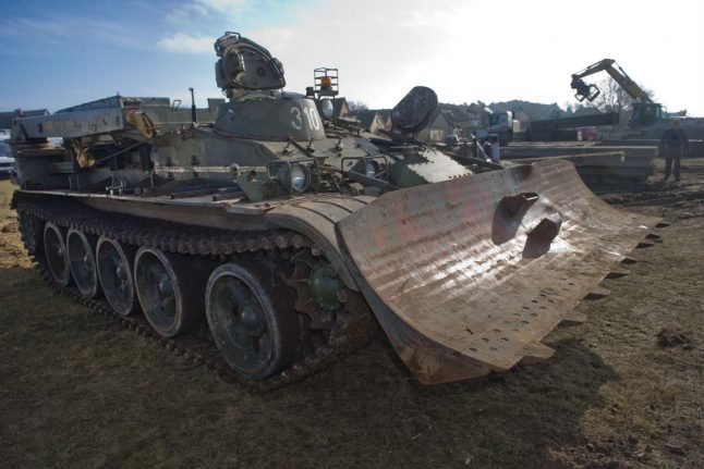 Man on trial over two fully equipped tanks bought for Berlin fashion show