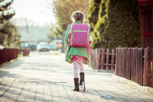 Italy amends law to allow kids to go home from school alone