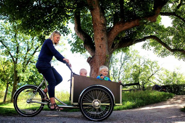 'There's no need to join a gym when your nursery run is 30 minutes by bike'