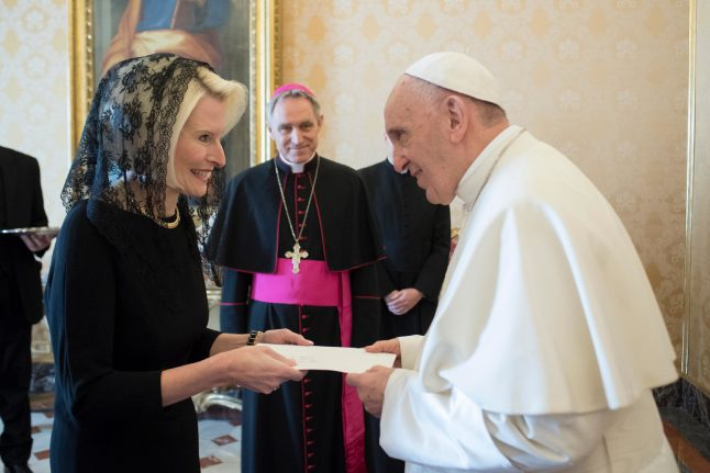 Callista Gingrich takes over as US ambassador to Vatican