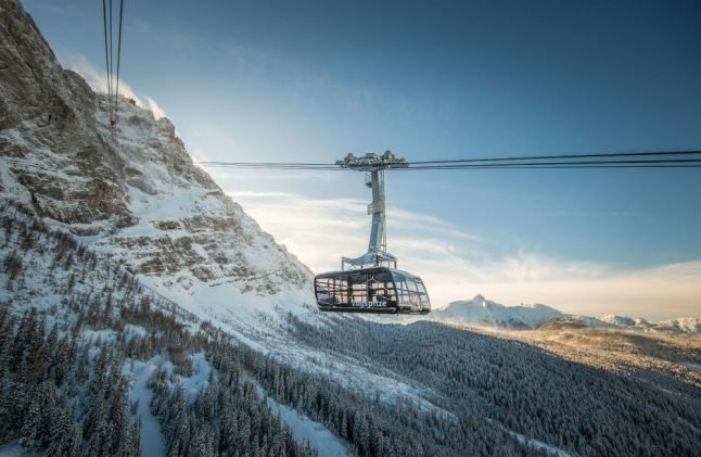 Record-breaking cable car for tallest mountain in Germany to open Thursday