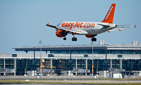 Easyjet to take on Lufthansa within Germany starting in January