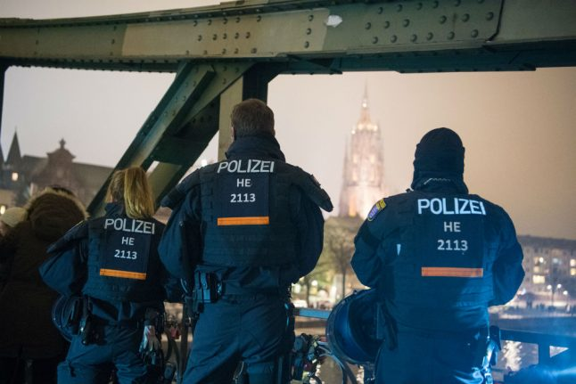 How German cities are increasing police presence on New Year's Eve