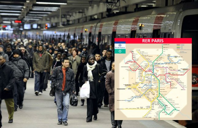 Paris commuters and airport passengers to be hit by train strike