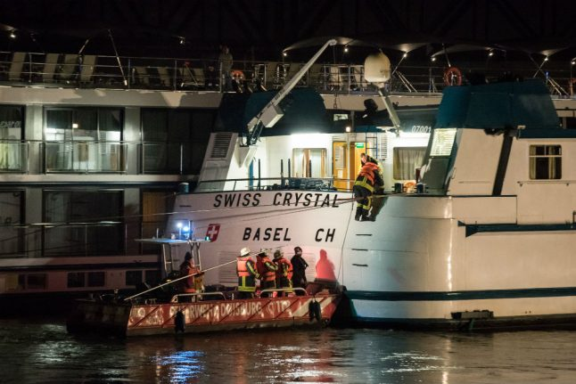 Nearly 30 people injured after ship rams into bridge in Duisburg
