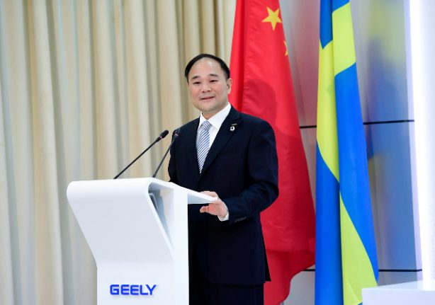 Chinese Geely buys stakes in Swedish truck maker Volvo