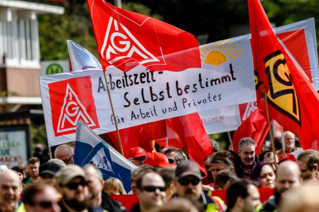 Germany's largest union escalates fight for 28-hour work week