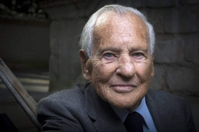 France's 'prince of letters' Jean d'Ormesson dies aged 92