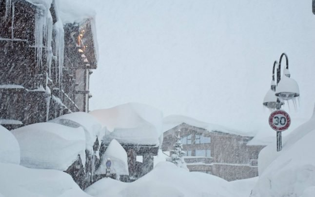 IN PICTURES: French Alps hit by 'once-in-a-generation' snow storms