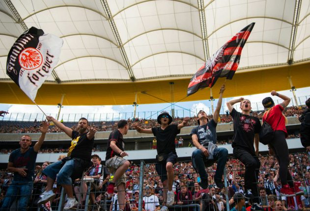 Eintracht Frankfurt hope to start movement by banning AfD members from club