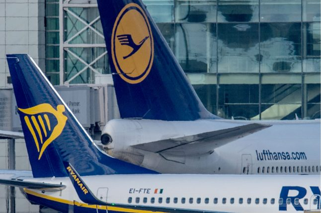 Lufthansa scrapes past Ryanair in fight to fly most passengers