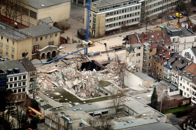 Trial starts over collapse of Cologne city archive that killed two