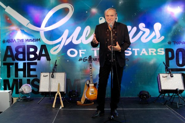 IN PICTURES: Guitars of the stars ready to rock Stockholm's Abba Museum