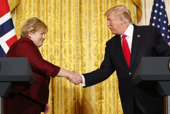 'Paris Agreement provides business opportunities': Norway PM Solberg to Trump