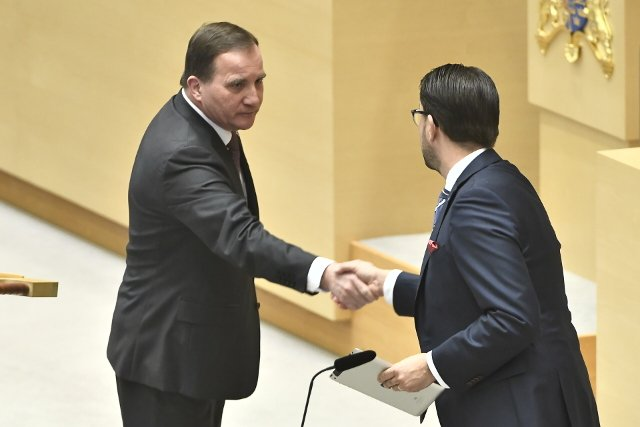Bring in the military to fight gangs, Sweden's PM told at debate