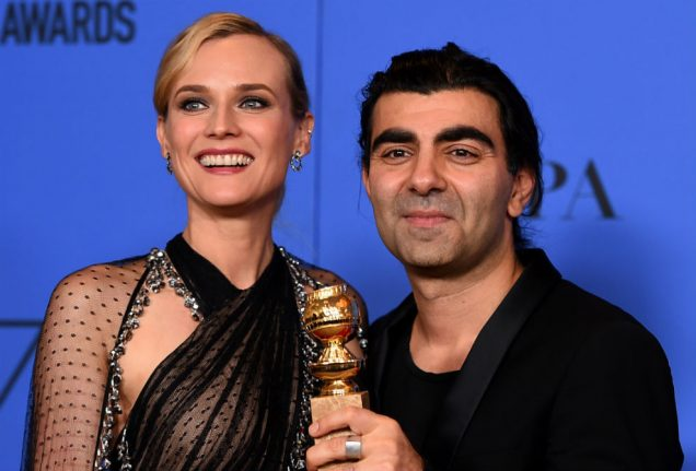 Germany's 'In the Fade' wins Golden Globe for foreign language film