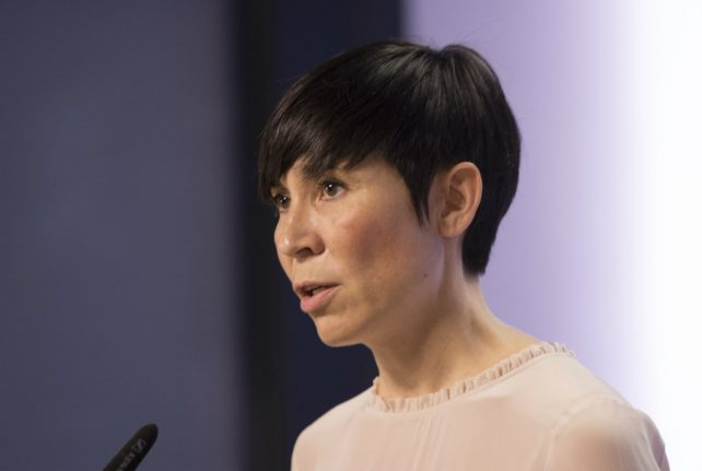 Norway wanted to assist Israel-Palestine peace process: foreign minister