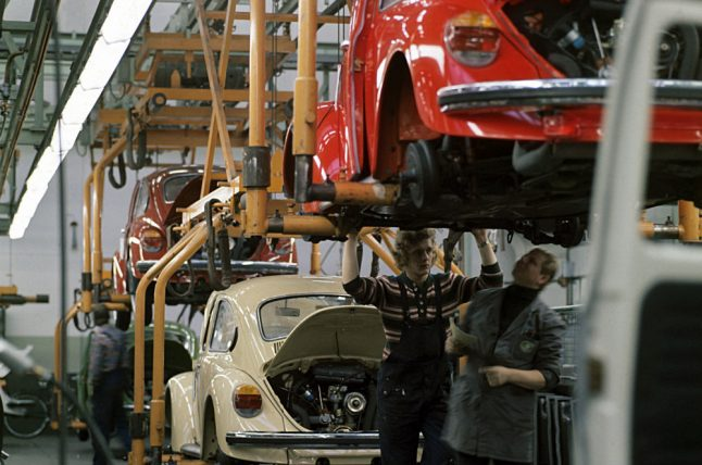 40 years since final VW Beetle rolled off production lines in Germany