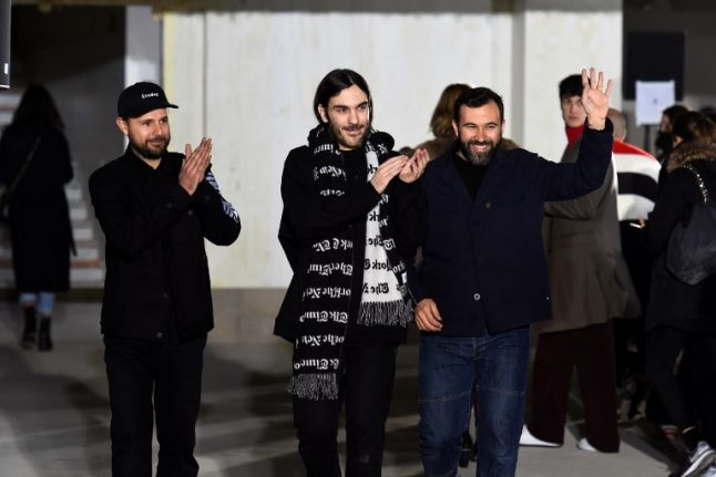French fashion label rallies to support press freedom from Trump