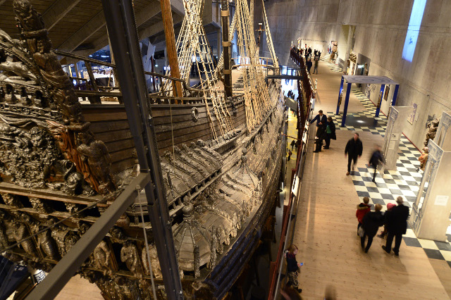 Stockholm's Vasa Museum sails into top spot on most-visited list