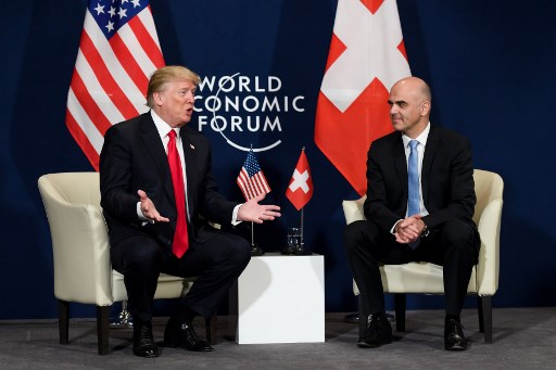 Berset: Switzerland ready to strengthen 'excellent' relationship with the US