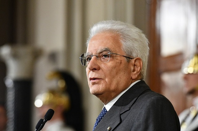 Italian president urges 'realistic programmes' ahead of elections