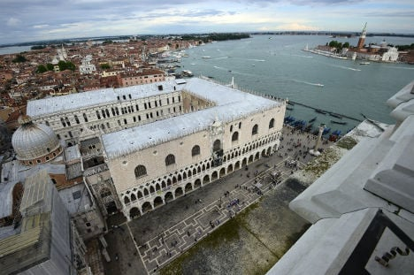 Qatar-owned jewels stolen from show at Venice's Doge's Palace