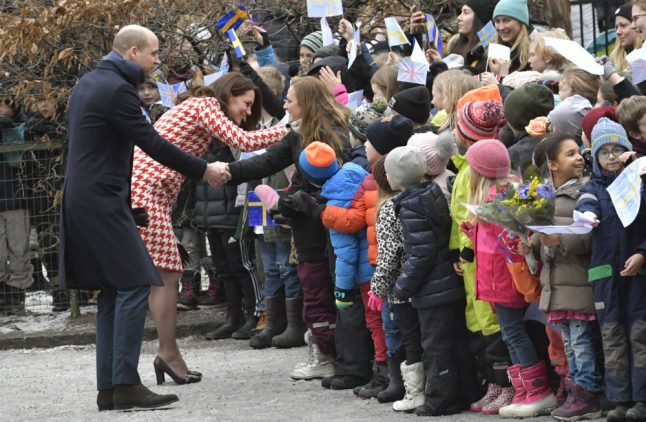 Will and Kate win Swedish hearts with Ikea secret