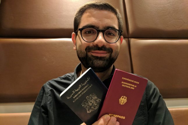 'Getting German citizenship enabled me to see my family for the first time in years'
