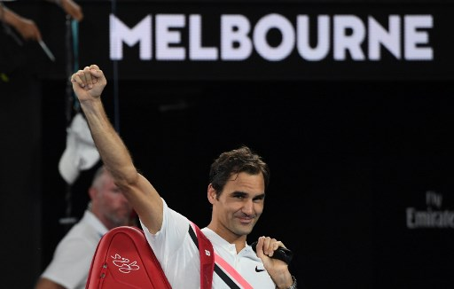 Federer into Open final as Chung retires injured