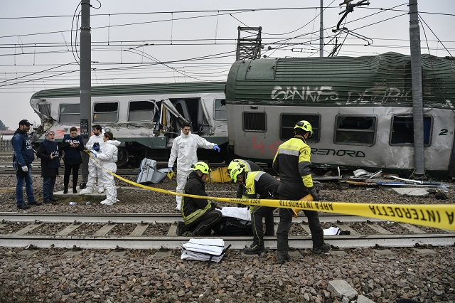 'Dying on the way to work is unacceptable': Investigation into cause of Milan train tragedy begins