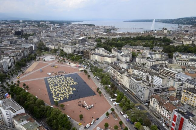 Right-wing group carries out security patrols in Geneva