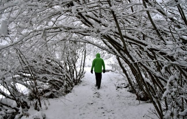 Icy wind from Siberia will bring winter back to Italy