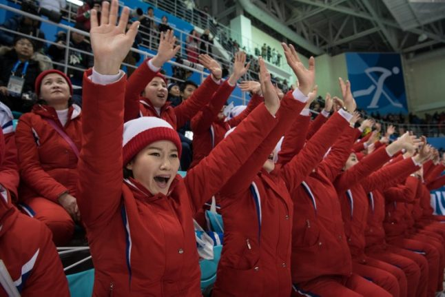 North Koreans silent on score after ice hockey loss to Switzerland