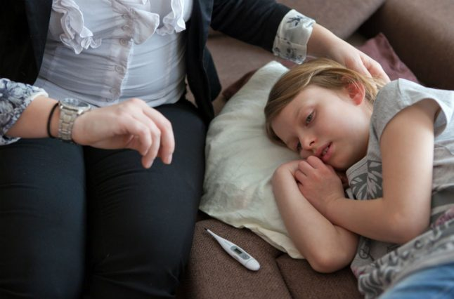 What working parents in Germany need to know when their child is sick