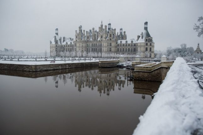 Snow pics: France's most famed sites like you've never seen them before