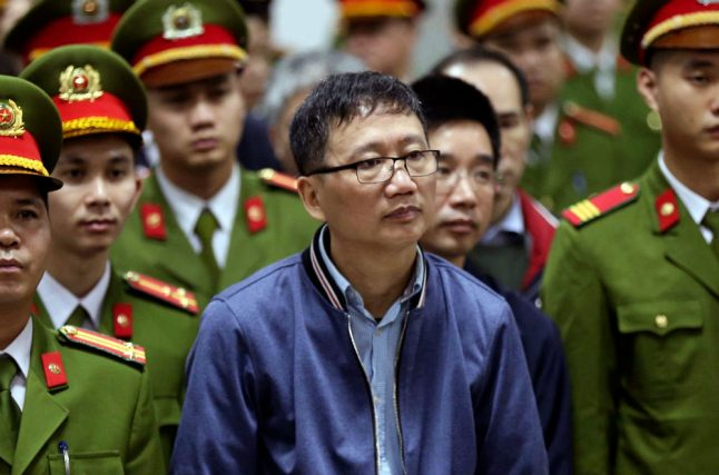 Vietnamese oil exec 'kidnapped' in Berlin gets second life sentence