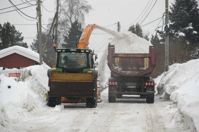 Oslo sets aside 53 million kroner to clear away snow