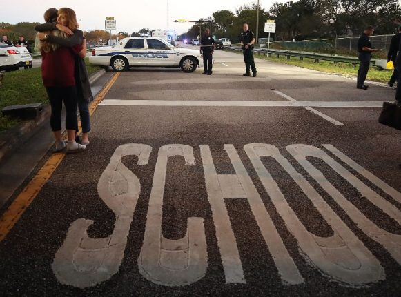 Teacher from Spain 'hid in cupboard' with pupils during high school shooting