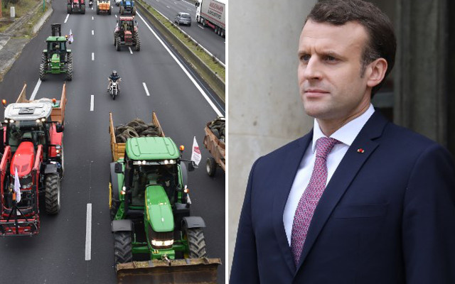 Macron to invite 1,000 'young' French farmers to the Elysée as tensions build