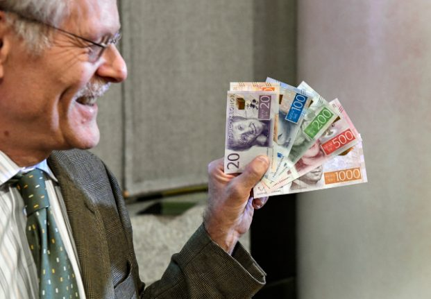 Who are those people on your Swedish banknotes?