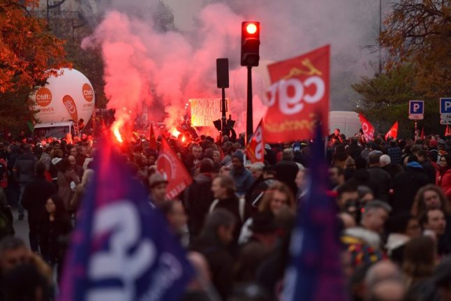 Macron to face nationwide public sector protests in March