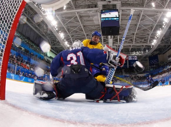 Sweden crushes unified Korean team's Olympic hopes in historic game