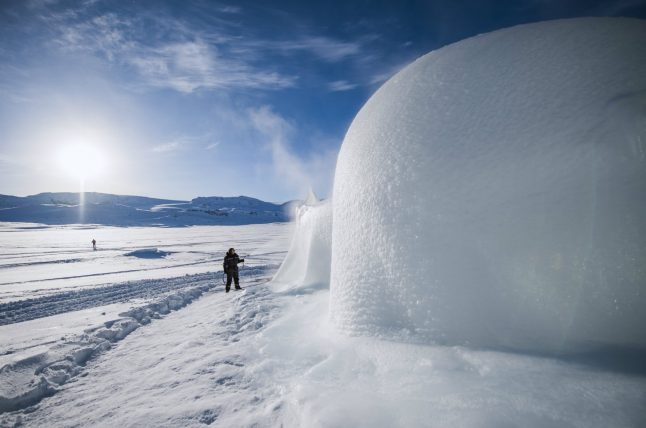 Ice instruments ring out coolest music in Norway